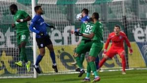 Лудогорец не спира да трупа победи в България - шестата поредна дойде срещу Черно море (видео)