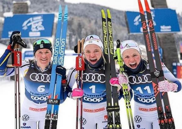 """Лин Сван спечели спринта във Вал ди Фиеме, Дигинс близо до крайната победа в """"Тур дьо ски"""""""