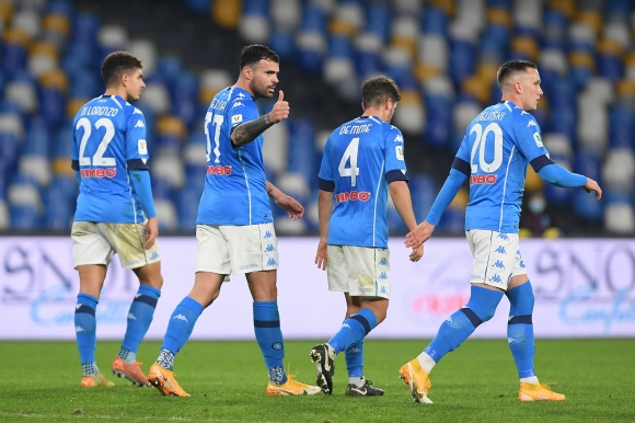 COVID-19 удари рамо на Наполи в първата крачка от защитата на купата