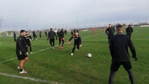 Ботев (Пд) и Валентич тренират, Маркиньос се присъедини към отбора