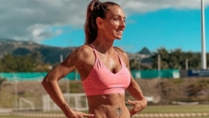 Ивет се радва на слънчеви тренировки на Тенерифе