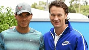 Надал ще е без треньора си на Australian Open