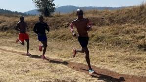 Мо Фара продължава подготовката си в Етиопия