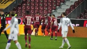 Чандъров с първи гол в Румъния, вкара на шампиона ЧФР Клуж (видео)