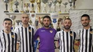 Отборът на Шенсой в Косово представи двама българи