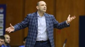 Тити Папазов: Трудно се играе с ограничен състав в сгъстен цикъл