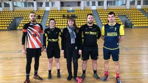 Първа победа за сезона за Левски (Левски) в мъжкото хандбално първенство