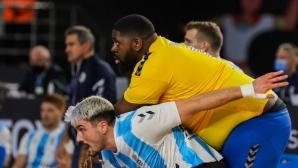 Хандбалист от Конго тежи 130 килограма и вече e звезда на световното първенство (видео + снимки)