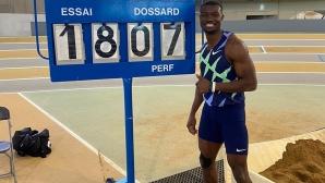Занго подобри световния рекорд в тройния скок в зала
