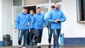 Симеон Славчев вече тренира със съотборниците си