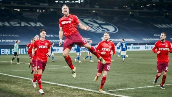 Гол в добавеното време донесе жизненоважна победа на Кьолн (видео)