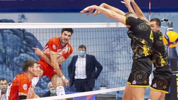 Тодор Скримов избухна с 22 точки и 7 аса! Енисей с нова победа в Русия (видео + снимки)