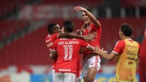 Интернасионал доближи върха в Бразилия след шести пореден успех