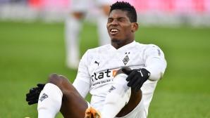 Полицаи хванаха футболист на Гладбах на забранено парти