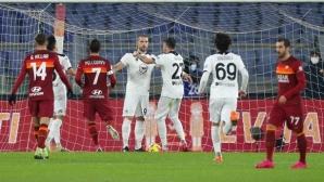 """Ударно завръщане на Гълъбинов! Българинът с гол и асистенция на """"Олимпико"""" (видео)"""