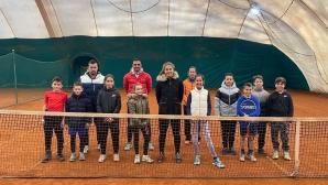 БФ Тенис започна провеждането на лагери с грижа за най-младите талант