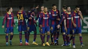 Барселона пропусна две дузпи, но си спести срама на Реал и Атлетико