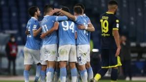 Гол в последната минута класира Лацио на четвъртфинал