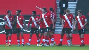 Саутхамптън 1:0 Арсенал в сблъсък за ФА Къп