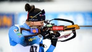 Финален спринт реши победата в женския масов старт в Антхолц