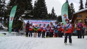 Силният вятър не спря участниците във Витоша зимен фест