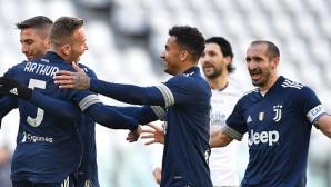 Ювентус не пропусна да се доближи до Милан и Интер (видео)