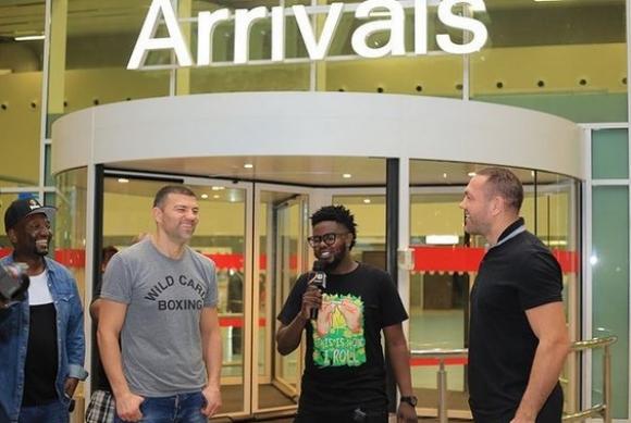 Тервел и Кубрат пристигнаха в отлично настроение в Танзания (видео + снимки)