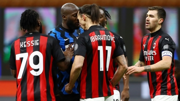 Истинско шоу в Милано: голяма свада, червен картон, съдийска смяна и победен гол в 97-ата минута
