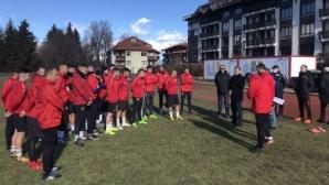 Банско започна с нови треньори и куп нови футболисти