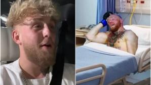 Джейк Пол: Конър Макгрегър беше нокаутиран от клошар