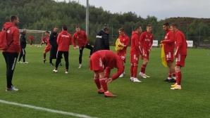 Страхотна тупалка измъкна ЦСКА 1948 срещу бивш участник в групите на ЛЕ (видео)