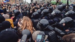 Арестуван ли е Дани Агер в протестите срещу Путин?