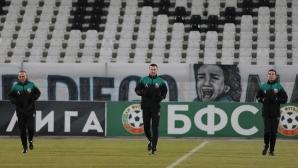 """Експерти от УЕФА посетиха """"Лаута"""""""