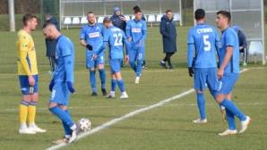 """Левски 2:1 Копер, червен картон за груб фаул срещу юноша на """"сините"""""""