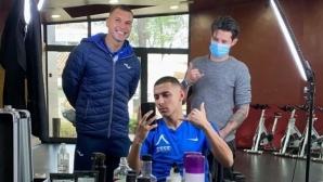 Божинов и Здравко Димитров минаха през фризьора за кадем