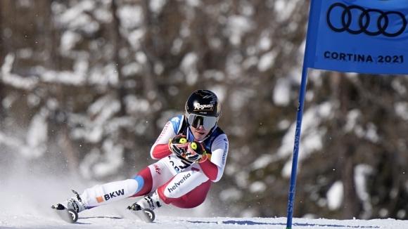 Очакван успех за Лара Гут-Бехрами на старта на СП по ски в Кортина
