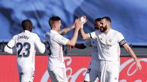 Реал Мадрид схруска Валенсия и е малко по-близо до върха от Барселона (видео)