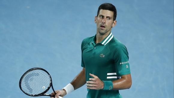 Гладиаторът Джокович достигна до деветия си 1/2-финал на Australian Open