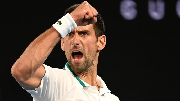 Новак Джокович се класира за 9-и финал на Australian Open (видео + снимки)