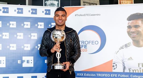 Каземиро взе награда за показаното през 2020 година