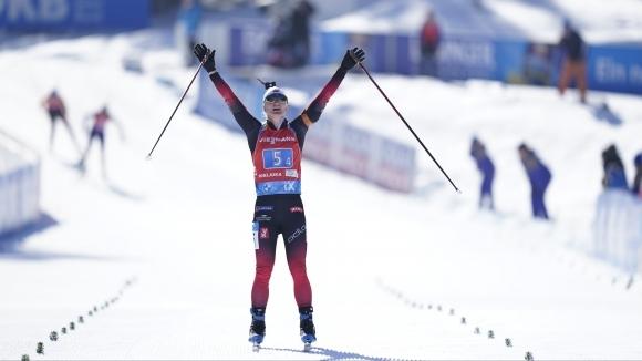 Трето поредно злато за Норвегия, България 18-а в женската щафета на СП в Поклюка