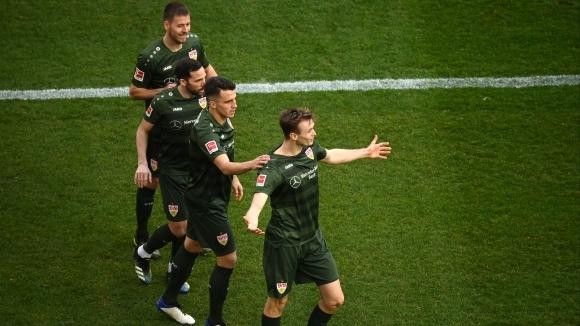 Щутгарт измъкна победата в Кьолн