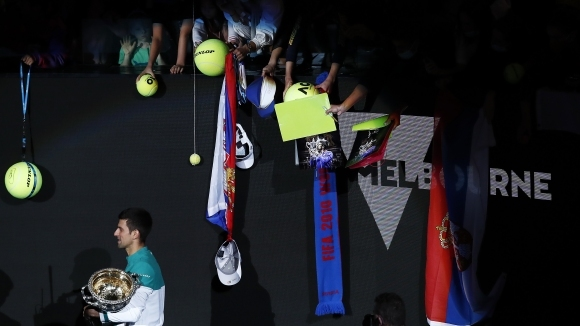 Всички шампиони при мъжете в Australian Open