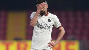 Рома стъпи накриво срещу десет от Беневенто (видео)