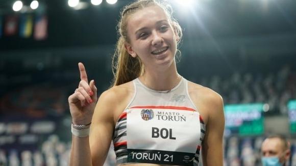Фемке Бол с четвърти пореден рекорд на 400 метра в зала