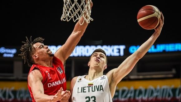 Литва се отърва като по чудо и се класира за ЕвроБаскет 2022 в последния момент