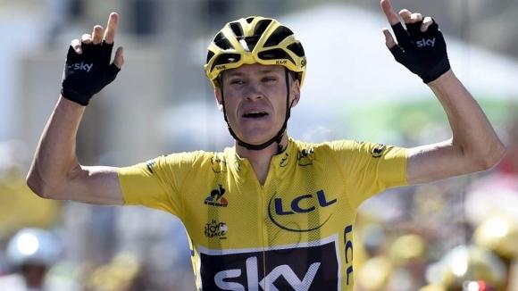 """Крис Фрум се вдъхновява от Том Брейди, прицели се в пета победа на """"Тур дьо Франс"""""""