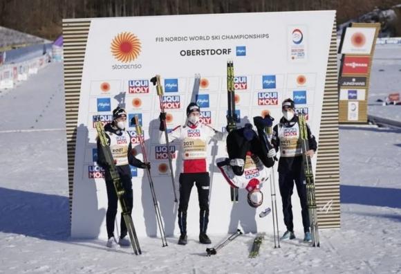 Втора поредна световна титла за Норвегия в щафетата по северна комбинация