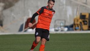 Героя наказа Перун като гост с три гола