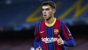 Иниеста: Педри не изглежда на 18 години, очаква го голямо бъдеще в Барселона